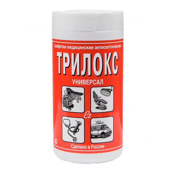 Трилокс  Салфетки медицинские антисептические 130x180 мм (90шт).